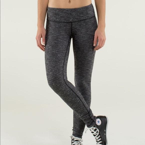 0aa5c7f00f518 lululemon athletica Pants | Dark Grey Lululemon Leggings | Poshmark